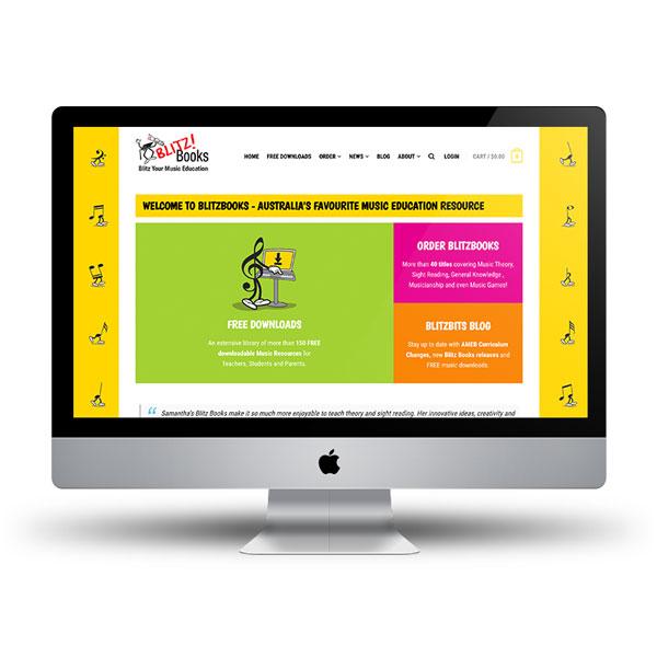 Blitz Book Ecommerce Website