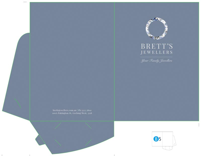 Stationery: Presentation Folder (Front)